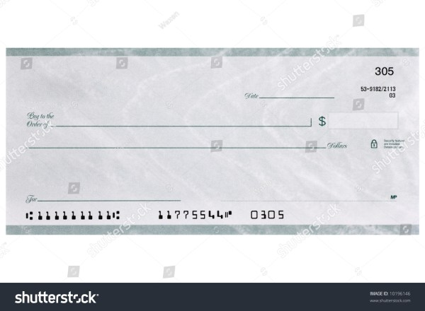 Fake Personal Checks
