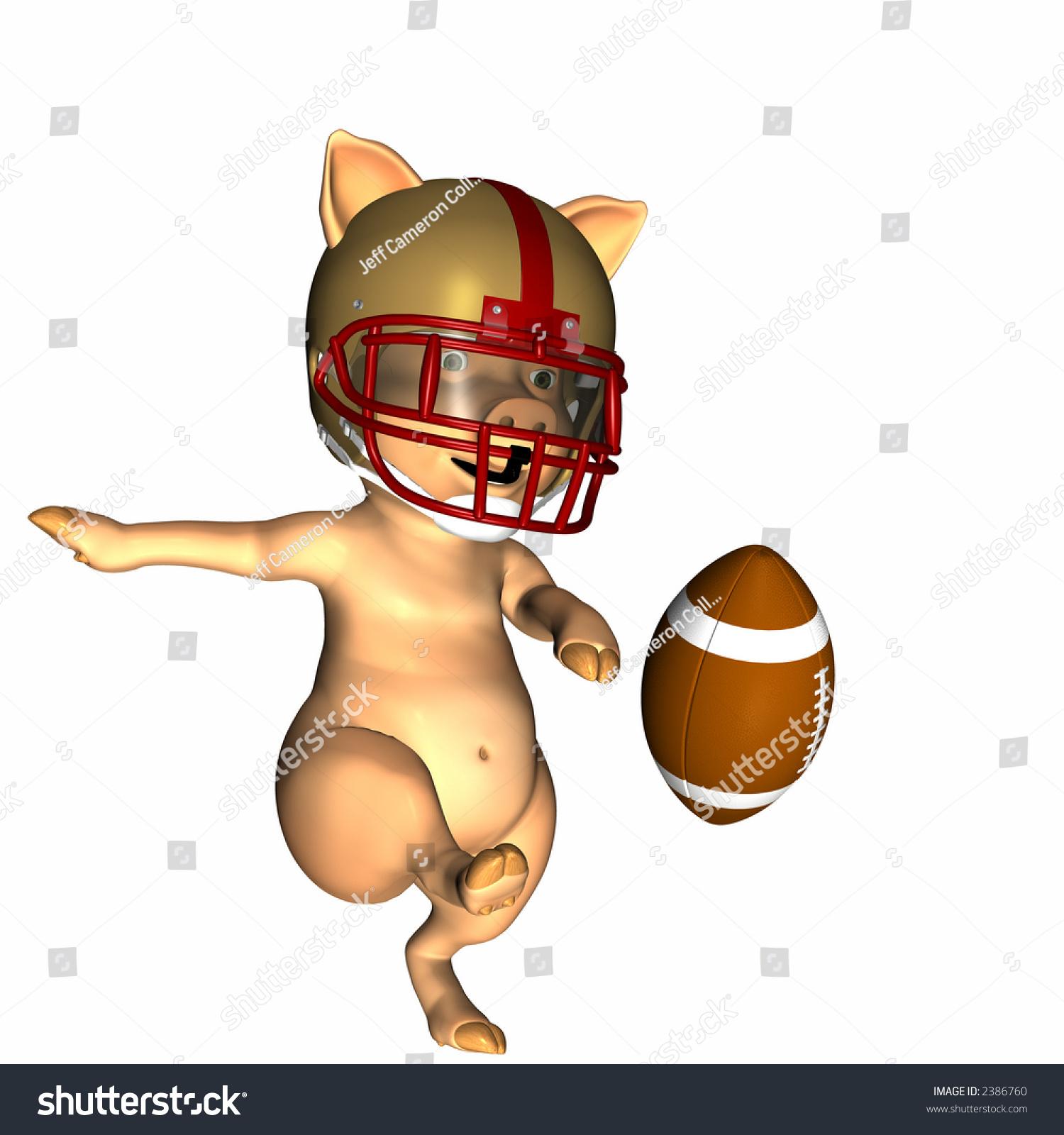 Pig Football Shutterstock