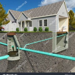 Fence Diagram Geology 7 Way Wiring Trailer Schematic Sectionview Illustration Contemporary Sanitary Sewer Stock 350130326 ...