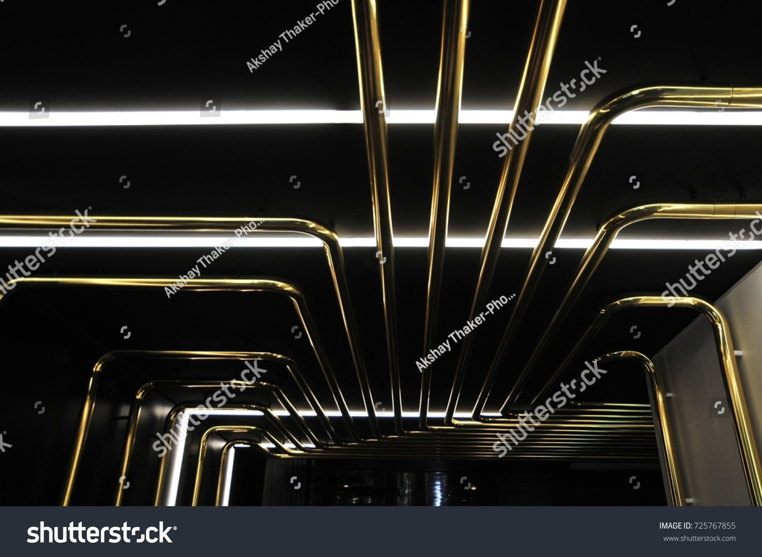 hight resolution of abstract art of musical pipe layout