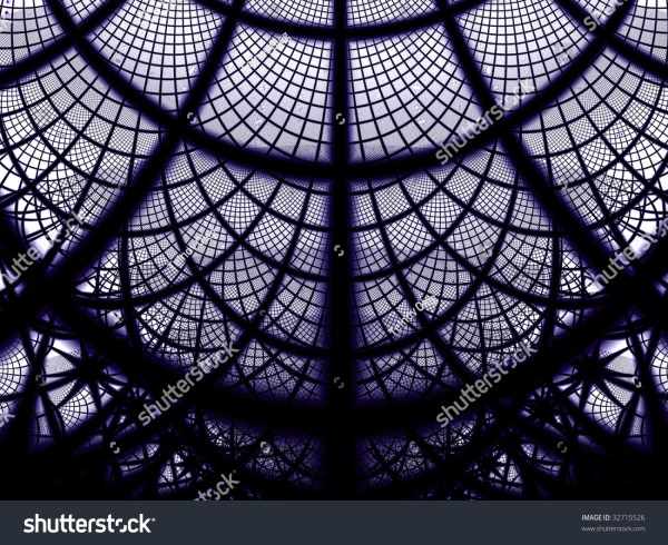 Abstract Gothic Background Stock Illustration 32715526