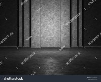 Abstract Structure Large Vertical Column Stock ...