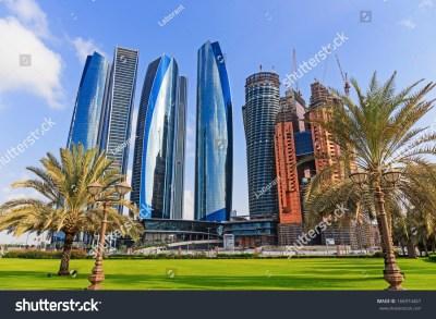 Abu Dhabi Uae November 5 Modern Stock Photo 166974467 ...