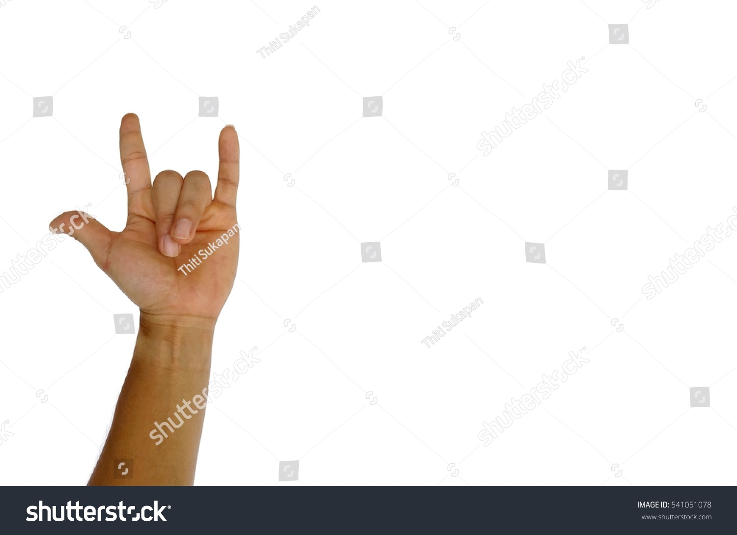 Admire Hand Symbol Stock Photo 541051078 : Shutterstock