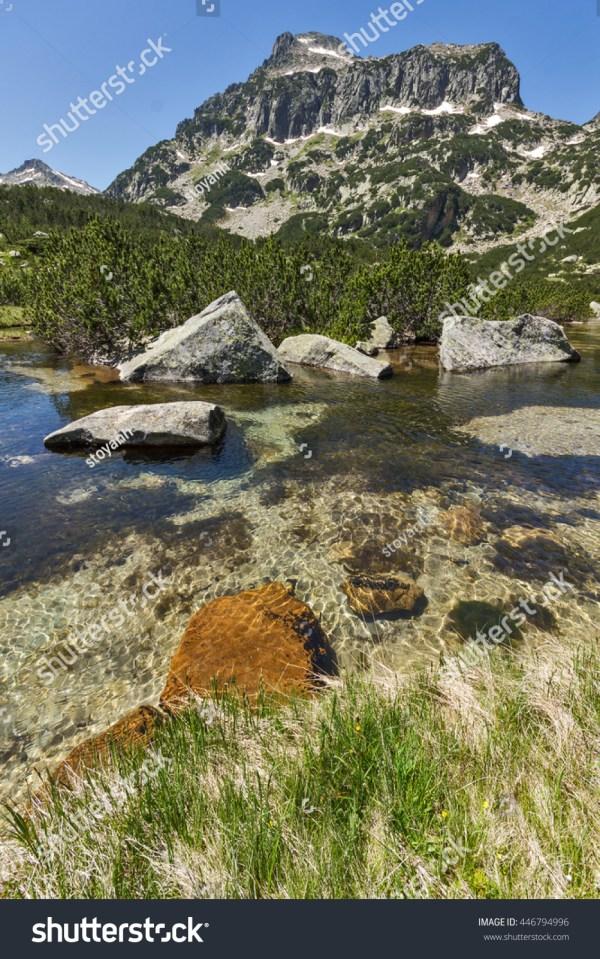 Amazing Landscape Dzhangal Peak Banski Lakes Stock 446794996 - Shutterstock