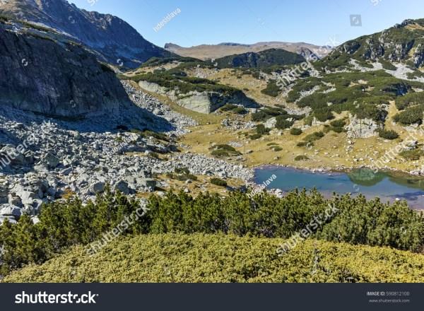 Amazing Mountain Lake Landscape