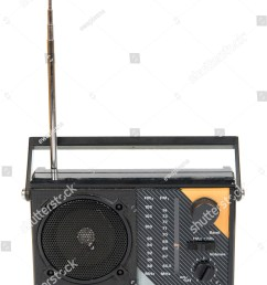 an old radio isolated on white background [ 1052 x 1600 Pixel ]