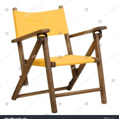 Folding Chair Yellow Pool Lawn Chairs Antique Canvas Children 39s In Bright