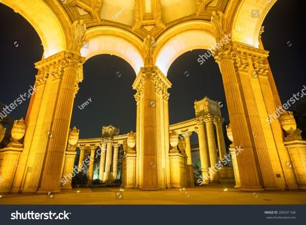 Inside Palace of Fine Arts San Francisco