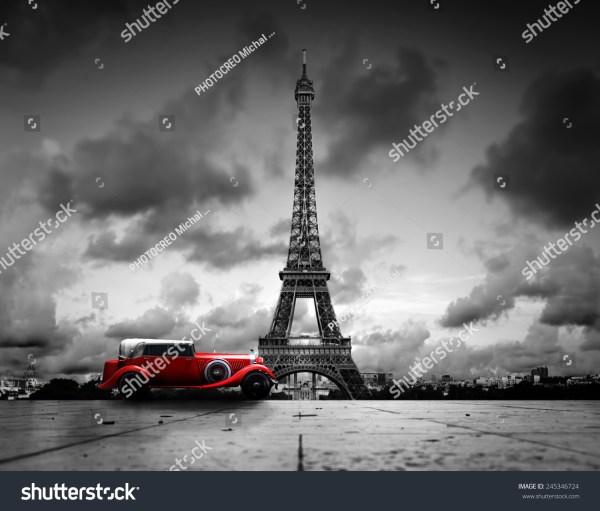 Black and White Vintage Paris France