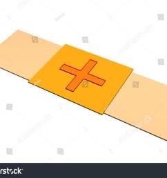 bandaid plaster clip art isolated on white background [ 1500 x 1180 Pixel ]