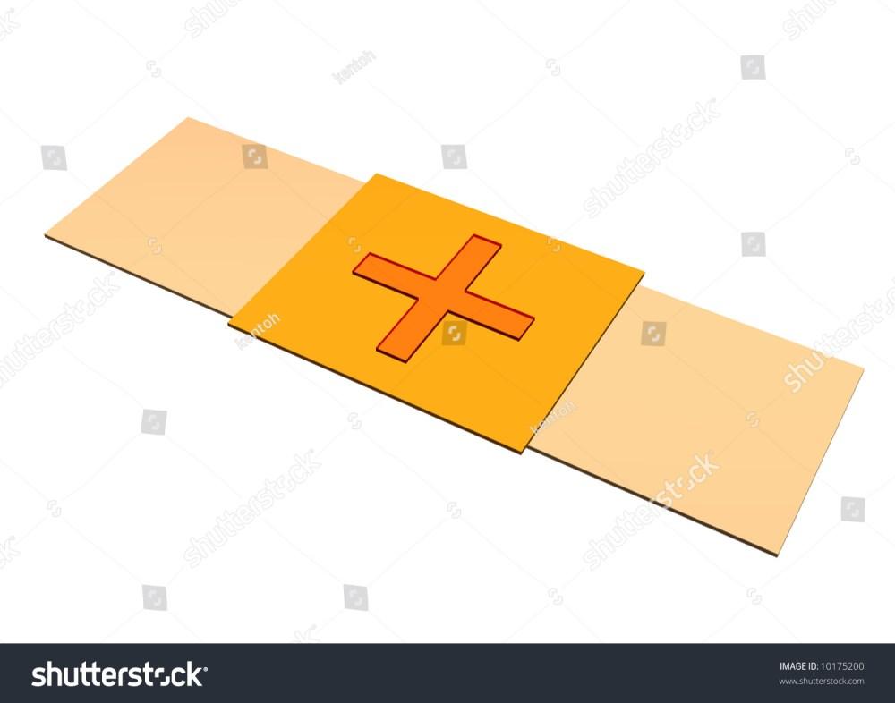 medium resolution of bandaid plaster clip art isolated on white background