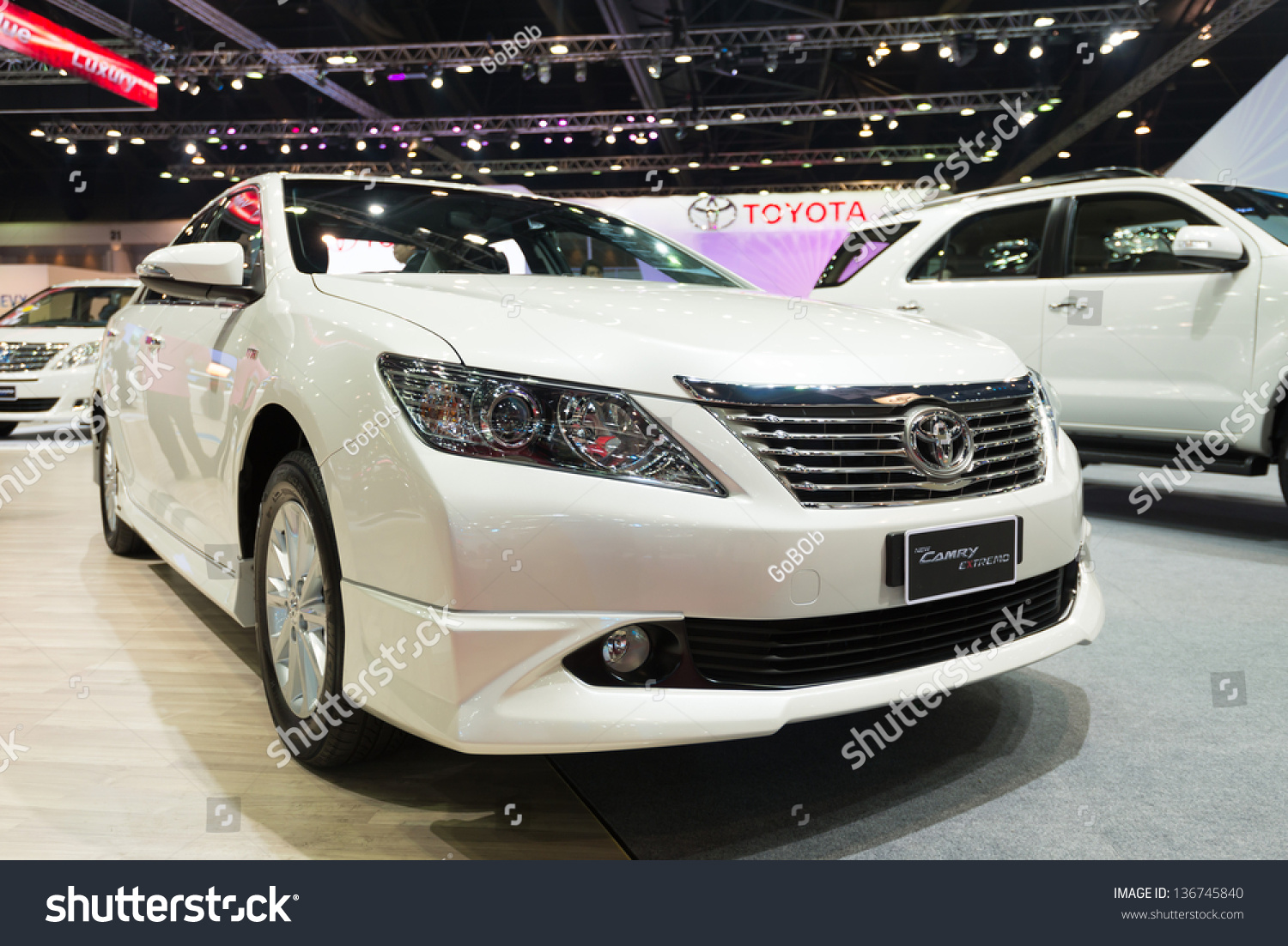 all new camry thailand kijang innova 2016 bekas bangkok march 26 toyota extremo on display