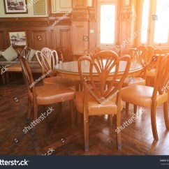 Chair Design Bangkok Wooden Doll High Canada Thailand June 152017 Photo Table Chairs Stock Edit 15 2017 Of A And At