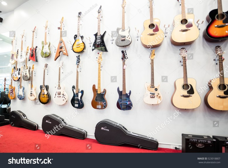 bangkok thailand november 25 2016 guitar stock photo (edit now