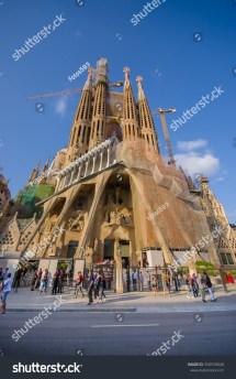 Barcelona Spain Buildings Downtown