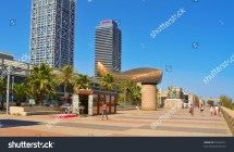 Barcelona Spain - August 16 Hotel Arts And Mapfre Tower