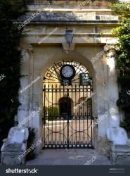 baroque architecture building modern malta medieval gate clock shutterstock