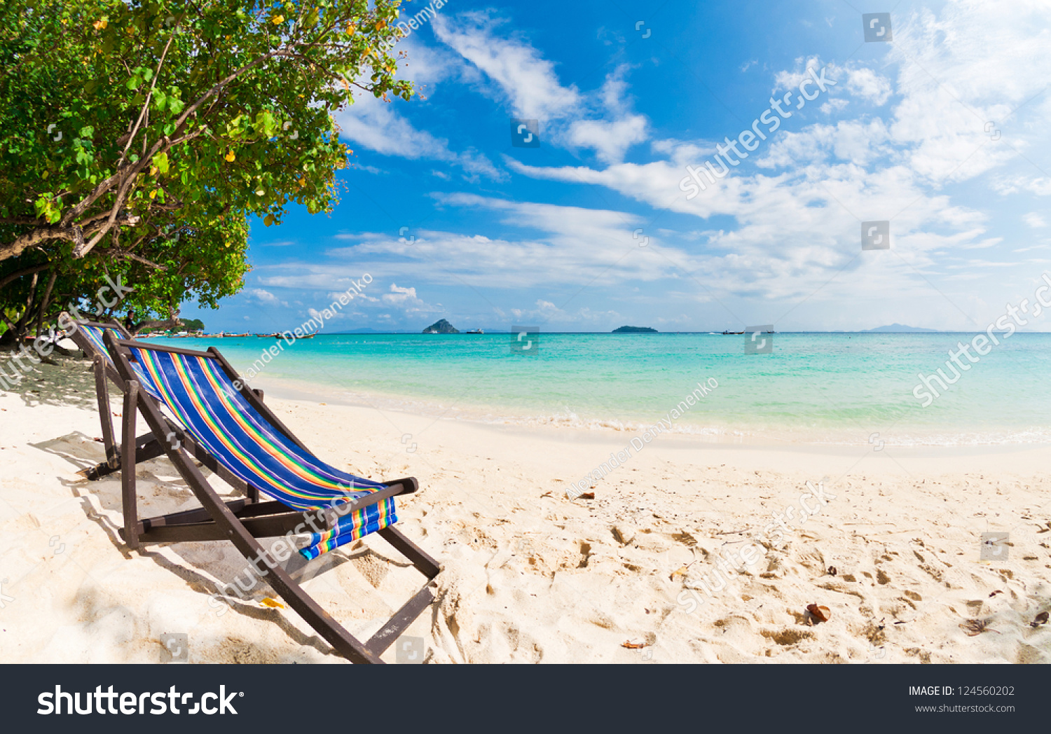 perfect beach chairs teal saucer chair on tropical sand phi island