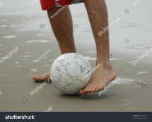 Feet Playing Soccer