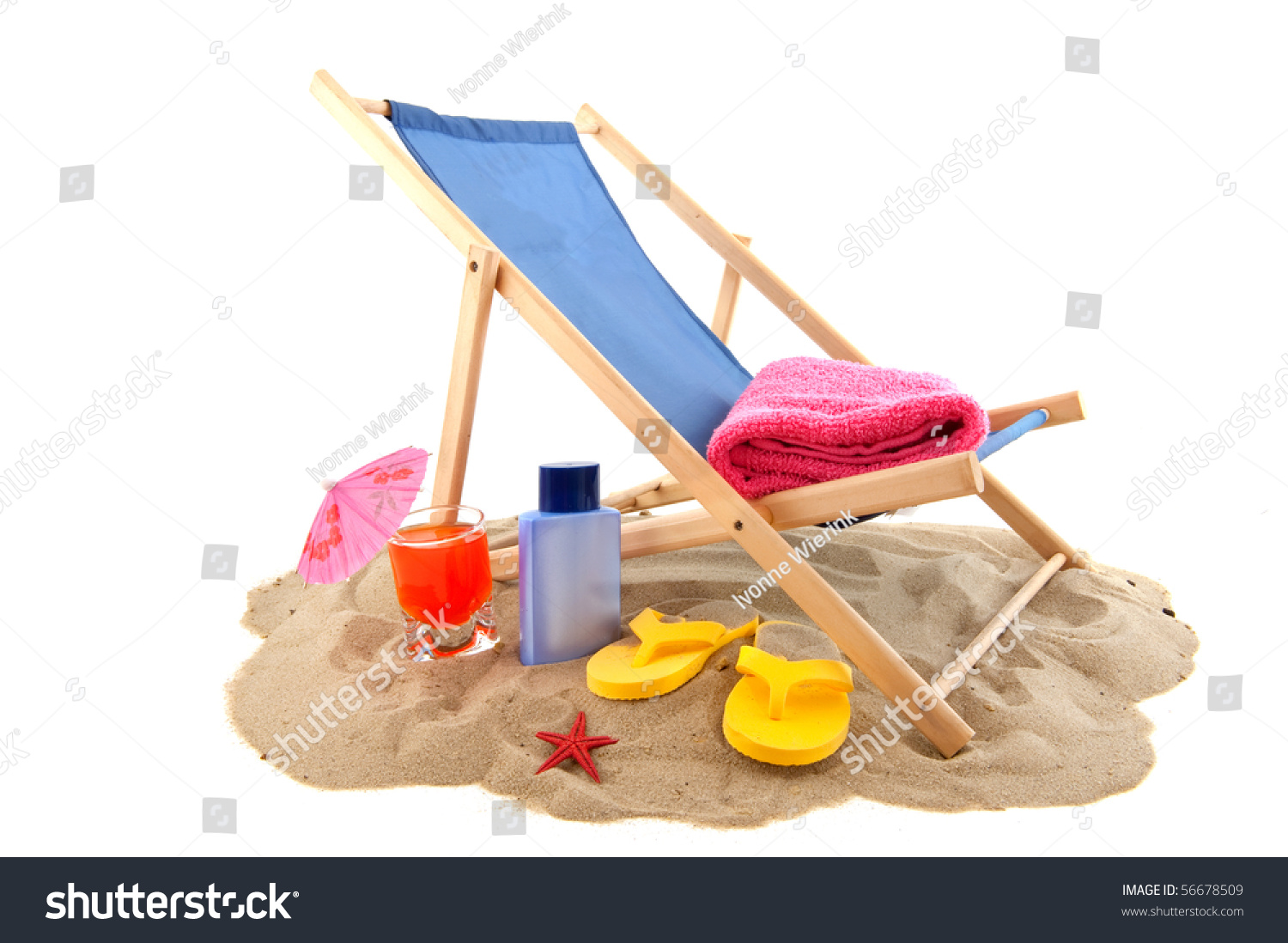 flip flop chair design nigeria beach with relax drink flops for vacation stock