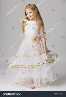 Beautiful Little Girl Princess Dress