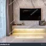 Beautiful Living Room Television Mock Tv Stock Photo Edit Now 514744762