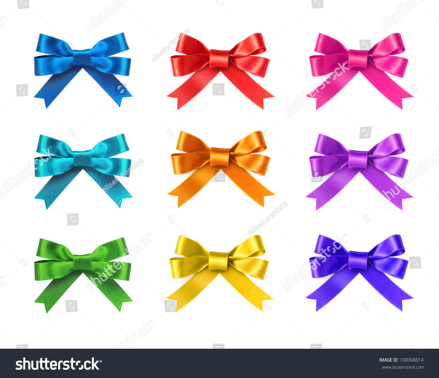 And White Green Bows Clip Art Christmas