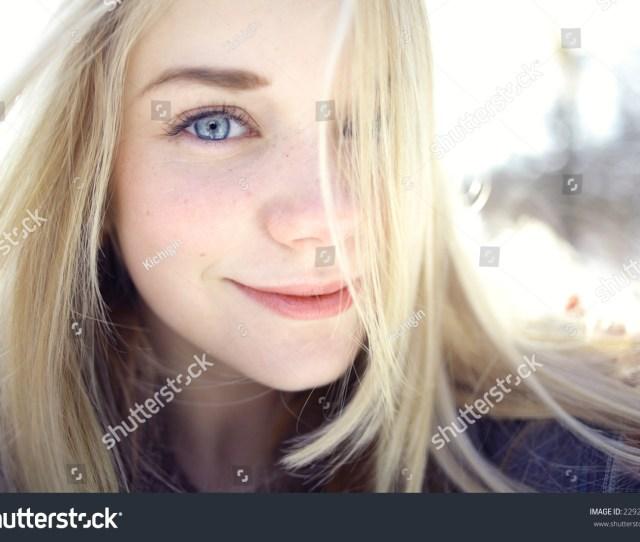 Beautiful Young Blonde Teen