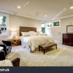 Beige Brown Master Bedroom Boasts Queen Stock Photo Edit Now 555354655