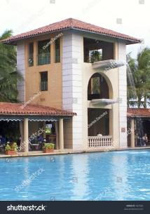 Biltmore Hotel Poolside Coral Gables Florida Stock