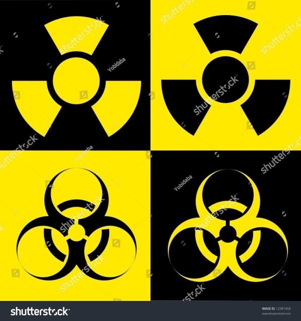 Biohazard Toxic Symbol Stock Illustration 12391450