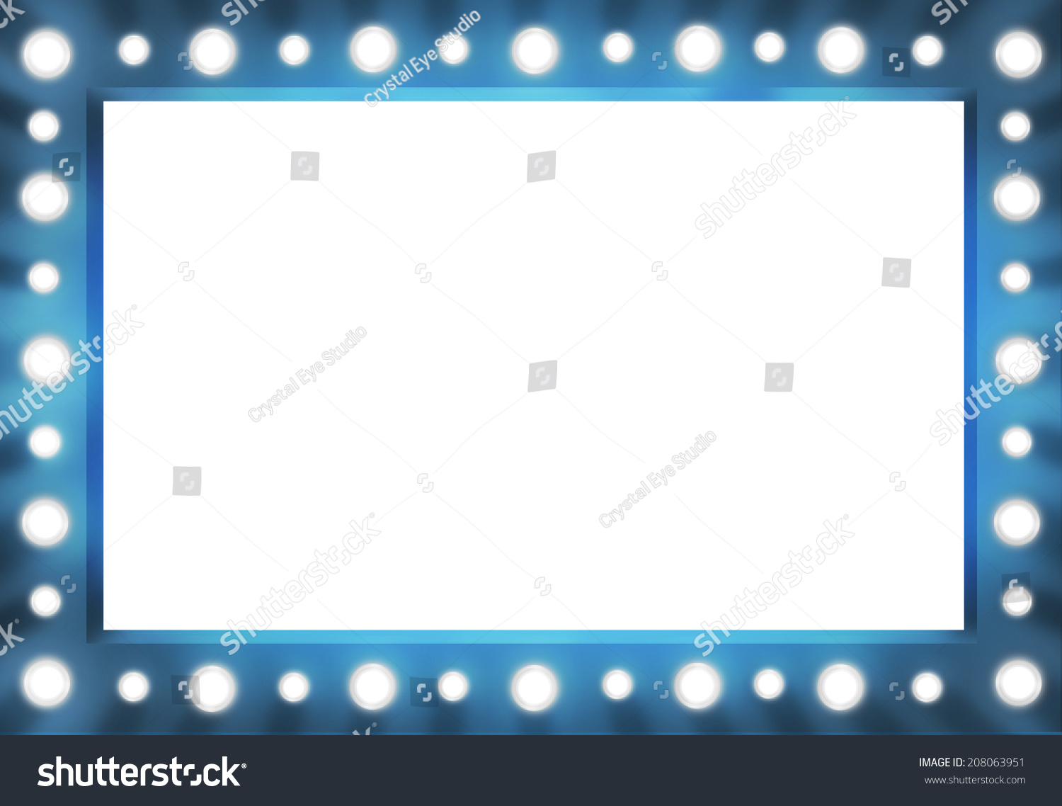 Star Dressing Room Sign Template