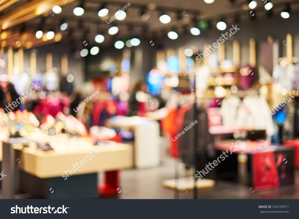 Blurred Showcases Fashion Boutique Sportswear