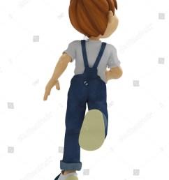 boy running back view [ 1125 x 1600 Pixel ]