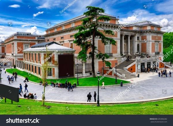 Building Museo Nacional Del Prado Stock 635306282 - Shutterstock