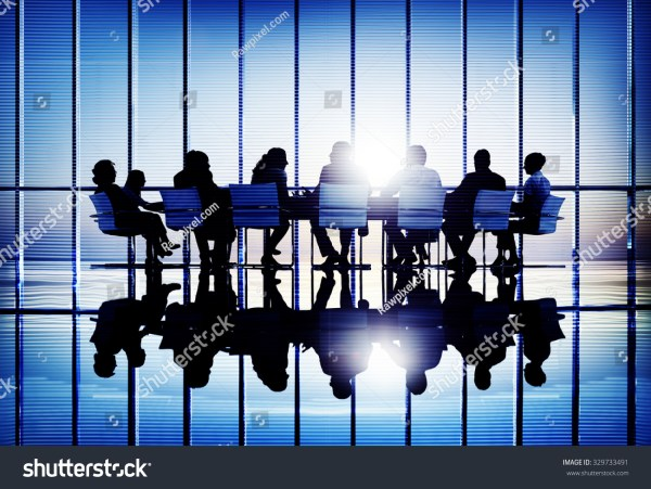 Business People Meeting Discussion Corporate Concept Stock