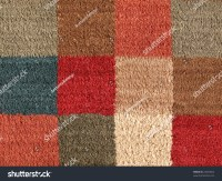 Carpet Texture Square In Pattern Close Up Stock Photo ...