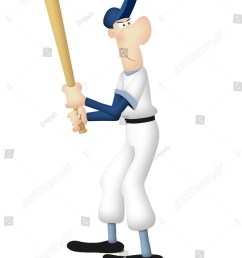 cartoon of baseball batter in batting pose  [ 1062 x 1600 Pixel ]