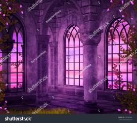 fantasy interior castle backdrop shutterstock