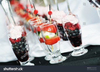 buffet outdoor catering food fruits colorful luxury restaurant shutterstock