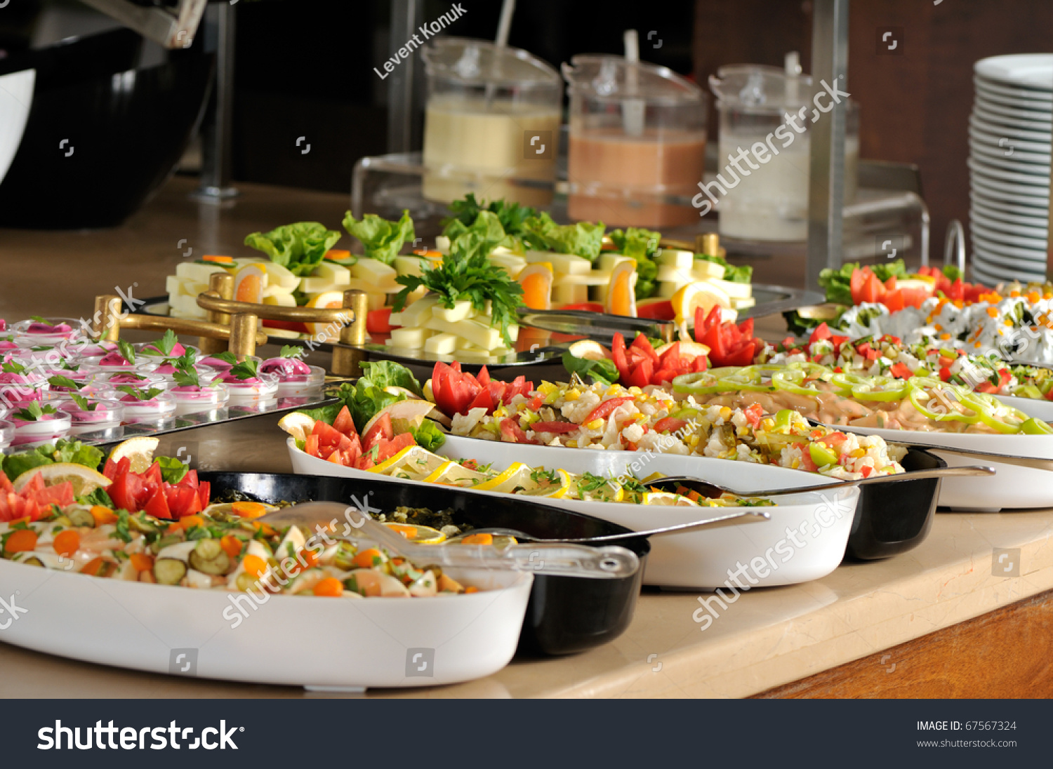 Catering Food At A Wedding Party - A Series Of Restaurant Images. Stock Photo 67567324 : Shutterstock