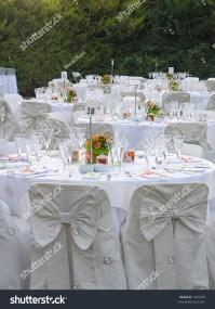 Catering Setup, Wedding Reception Stock Photo 1605303 ...