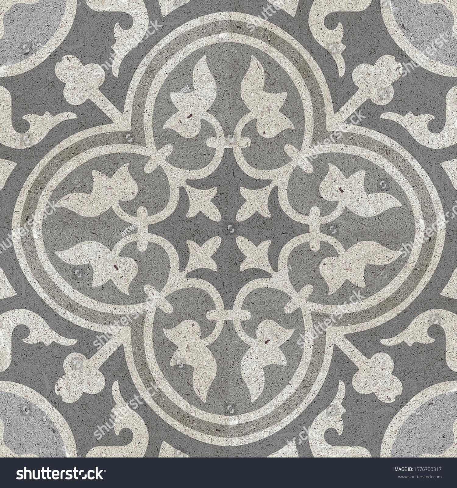 https www shutterstock com image photo ceramic background rustic decorative floor tile 1576700317