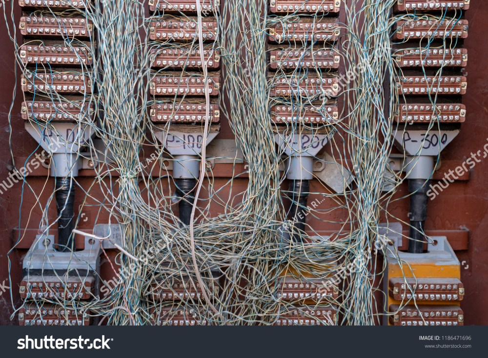 medium resolution of chaos of wires telephone cable junction box risk of fire
