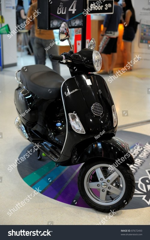 small resolution of chonburi thailand october 29 the vespa lx150 at 14th pacific motor show fast