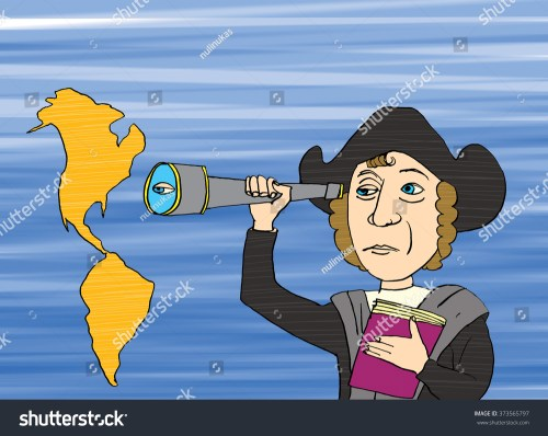 small resolution of christopher columbus and america cartoon