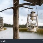 Classic Scandinavian Design Lantern Wooden Holder Stock Photo Edit Now 1515789425