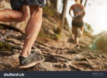 Male Cross Country Runners Legs