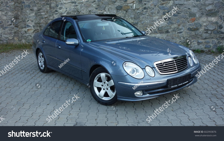 Cluj Napocaromania September 03 2016 Mercedes Stock Photo